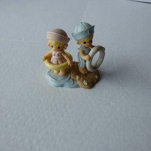Precious moments figurines  Sailor Boy And Girl